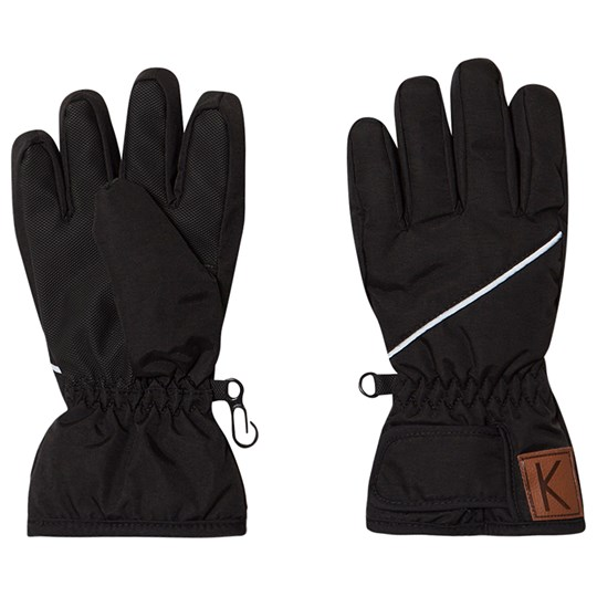 Kuling Ski Gloves Moss Always Black