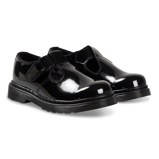 Dr. Martens Ailis Mary Jane Shoes Black Patent 001