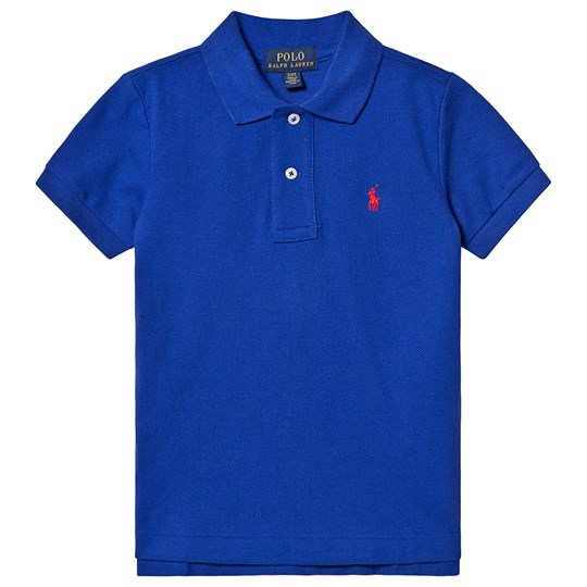 Ralph Lauren Royal Blue Polo with Small PP 027
