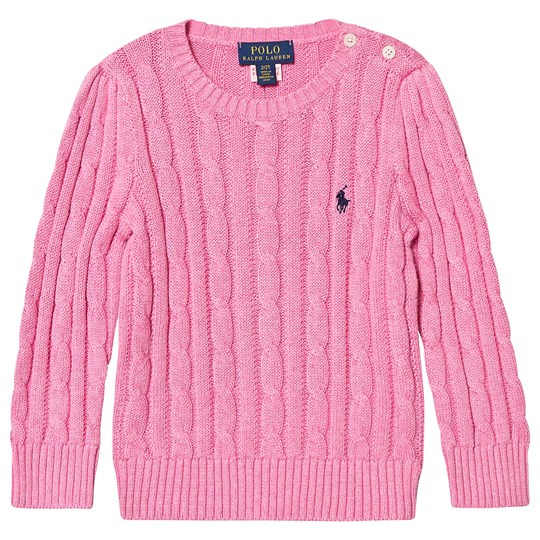 Ralph Lauren Cable Knit Sweater Rose Heather 009