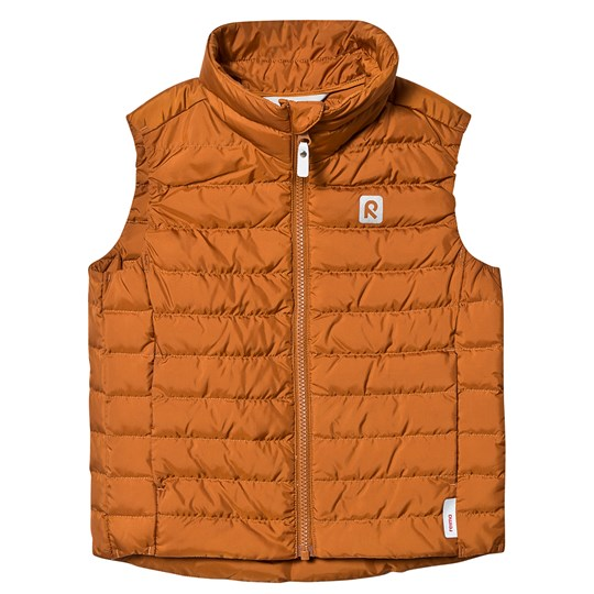 Reima Fauna Down Vest Cinnamon Brown Cinnamon brown