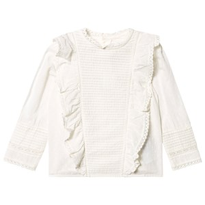 Image of Bonpoint Anglaise og Broderie Blouse Hvid 6 years (1467725)