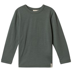 Kuling Wool T-shirt Light green