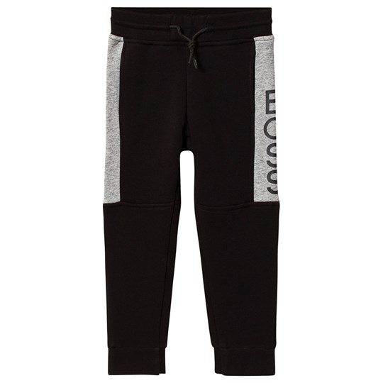 BOSS Branded Sweatpants Black/Dark Grey M10