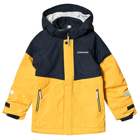 Didriksons Lun Jacket Oat Yellow Oat Yellow