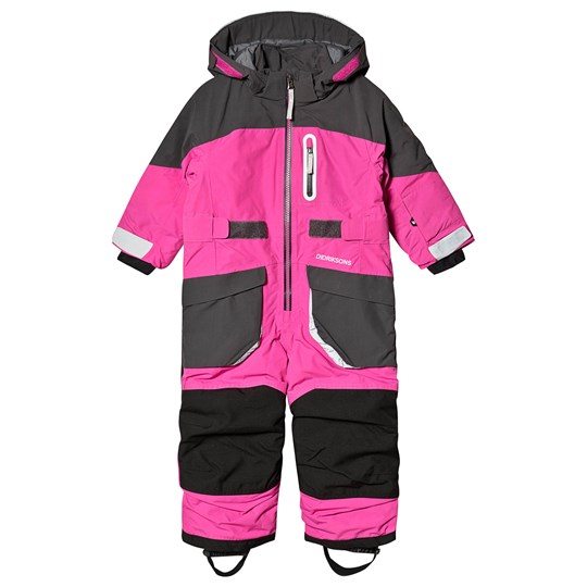 Didriksons Sogne Coverall Plastic Pink Plastic Pink