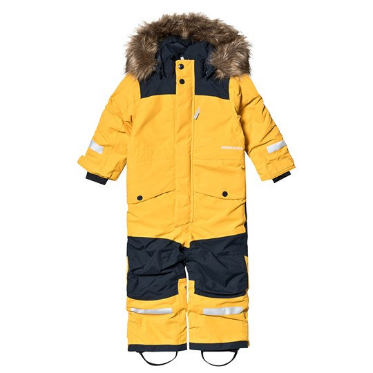 Didriksons Björnen Coverall Oat Yellow Oat Yellow