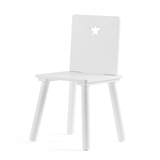 Kids Concept Chair STAR White White