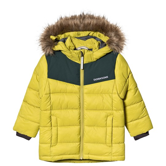 Didriksons Digory Puff Jacket Seagrass Green Seagrass Green