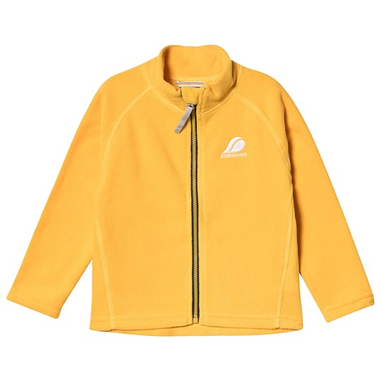 Didriksons Monte Microfleece Jacket Oat Yellow Oat Yellow