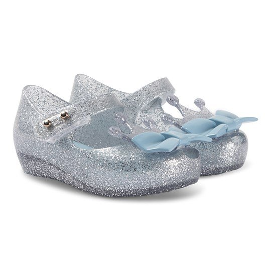 Mini Melissa Mini Princess Shoes Silver Glitter 53321