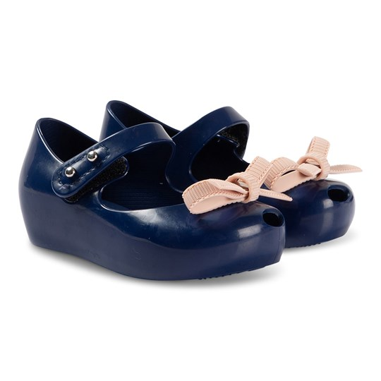 Mini Melissa Mini Bow Shoes Navy Contrast 52227