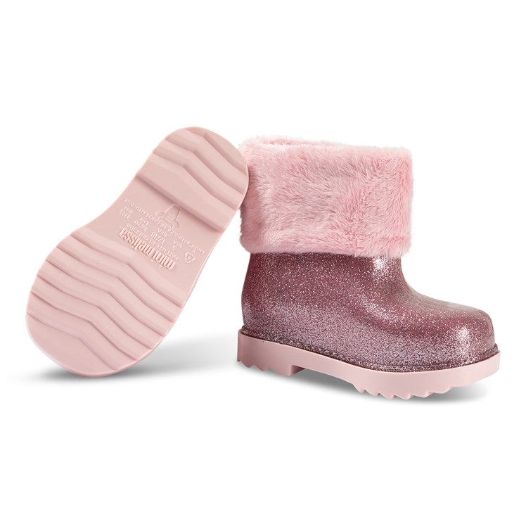 Köp Mini Melissa Sugar Rain Fairy Gummistövlar Rose Gold 19