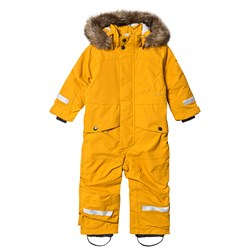 Didriksons Björnen Coverall Yellow Orche
