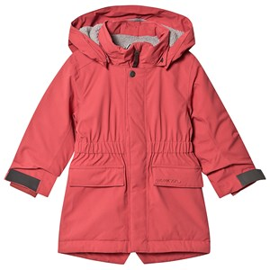 Image of Didriksons Ronne Parka Raspberry Red 100 cm (3-4 år) (1410209)