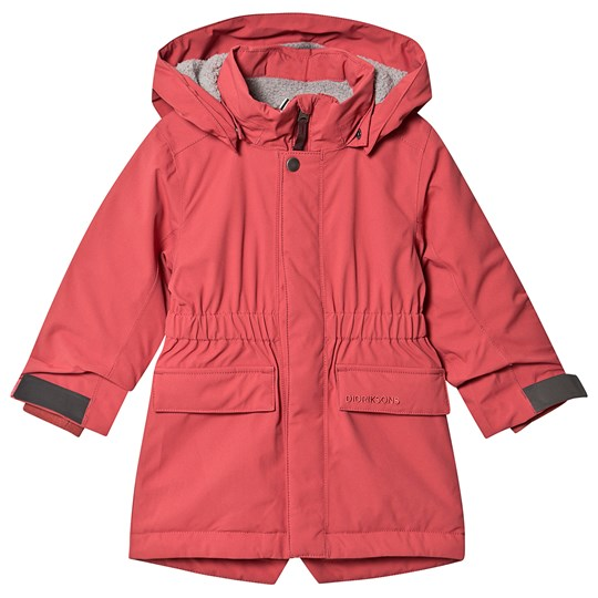 Didriksons Ronne Parka Raspberry Red Raspberry Red