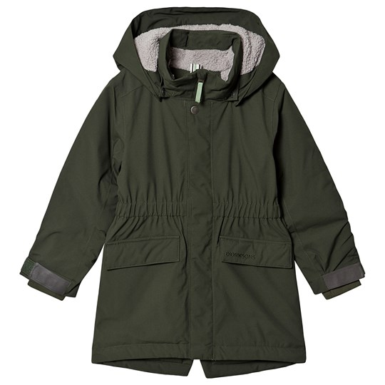 Didriksons Ronne Parka Spruce Green Spruce Green