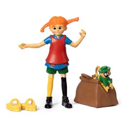 Pippi Långstrump Pippi Longstocking Figure Set