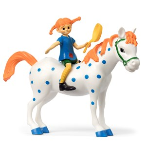 Image of Pippi Långstrump Pippi & Little Buddy Figure Set 3+ years (1451919)