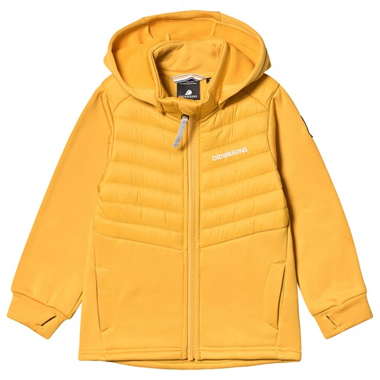 Didriksons Molnet Hybrid Jacket Oat Yellow Oat Yellow