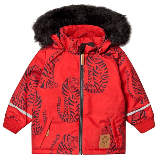 Mini Rodini K2 Tiger Parkas Röd Red