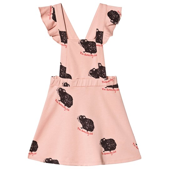 Mini Rodini Guinea Pig Dress Pink Pink