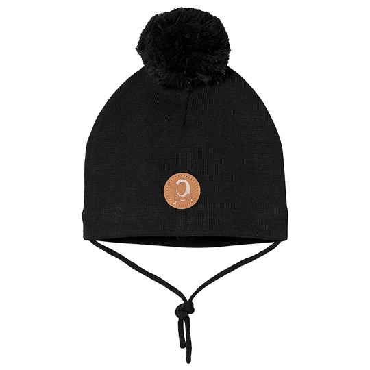Mini Rodini Penguin Hat Black Black