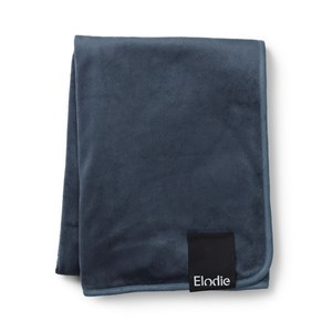Image of Elodie Pearl Velvet Blanket Juniper Blue One Size (1479151)