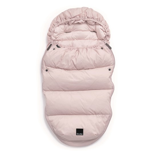 Elodie Lightweight Down Footmuff Pink Powder Pink