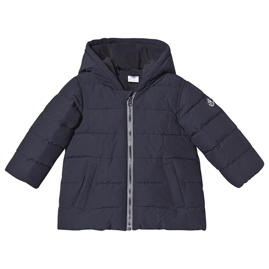 Petit Bateau Puffer Jacket Smoking Blue Smoking