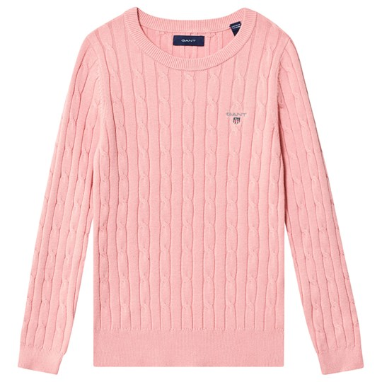 GANT Cable Knit Sweater Pink 659