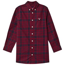 GANT Small Shield Shirt Red & Navy