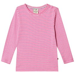 Frugi Mia Top Flamingo