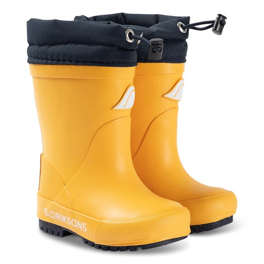 Didriksons Slush Boots Oat Yellow Oat Yellow