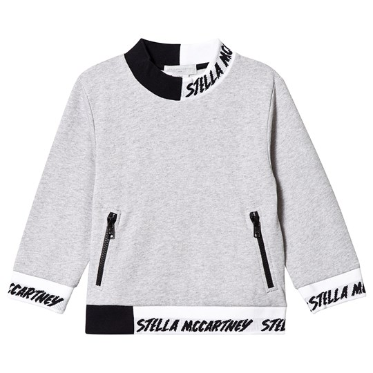 Stella McCartney Kids Contrast Sweatshirt Grå 1461
