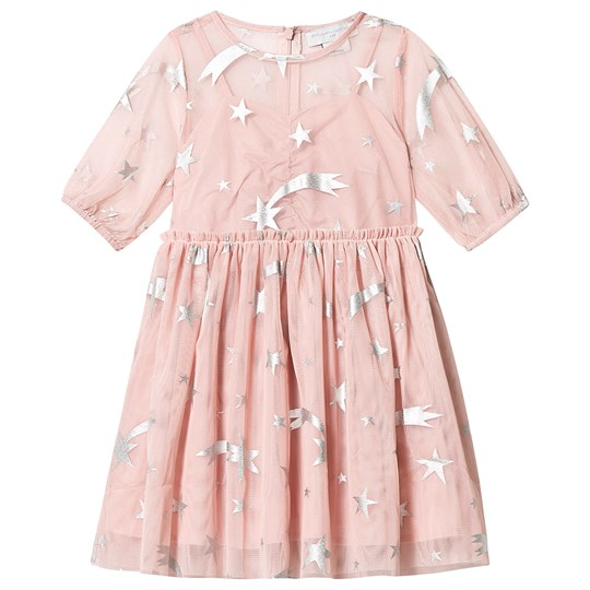 Stella McCartney Kids Stars Tulle Dress Pink 5773