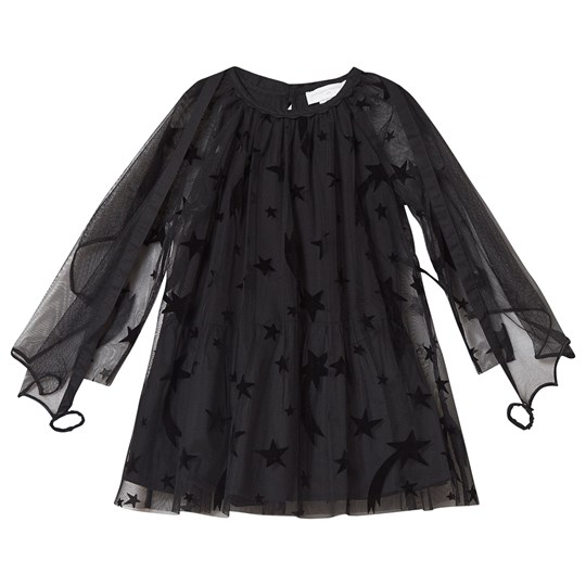 Stella McCartney Kids Shooting Stars Tulle Dress Black 1083
