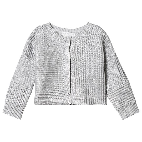 Stella McCartney Kids Strikket Cardigan Sølv 8115