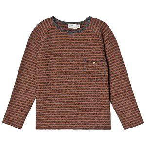 Image of búho Bruno Stripe Sweater Grey 3 år (1441633)