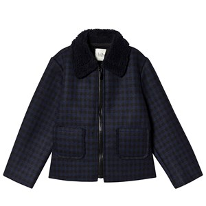 Image of búho Harry Short Jacket Navy Vichy 10 år (1441652)