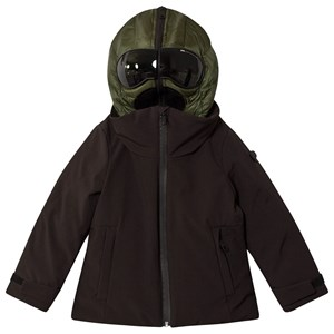 Bilde av Ai Riders On The Storm Goggle Hood Padded Jacket Black/khaki 10 Years