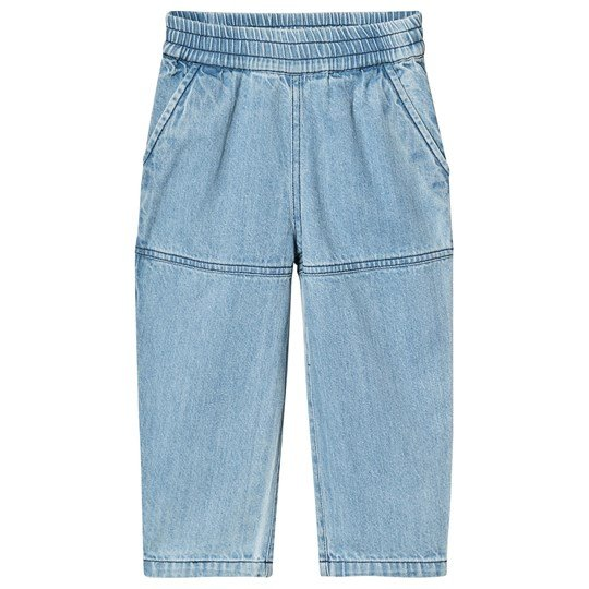 Wynken Denim Slouch Pants LIGHT BLEACHED DENIM