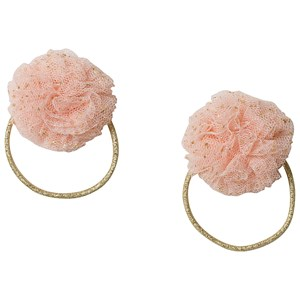 Image of Ciao Charlie 2-Pack Tulle Hair Ties Pink One Size (1389432)