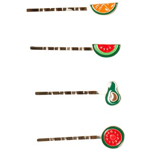 Image of Ciao Charlie 4-Pack Fruit Hair Clips One Size (1389462)