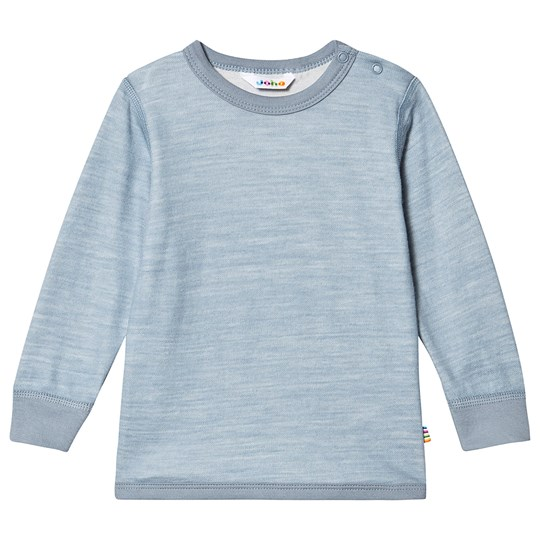 Joha Wool & Bamboo Tee Pale Blue Faded Deni