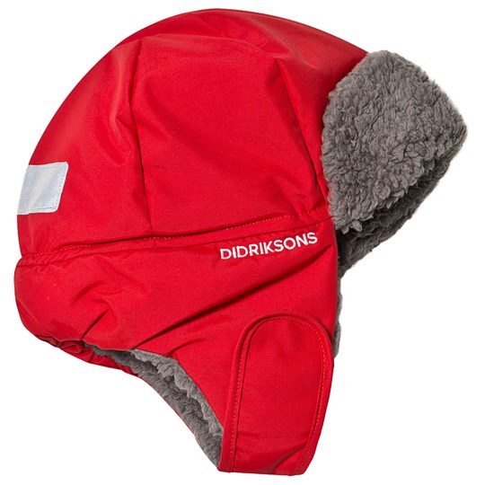 Didriksons Biggles Cap Chili Red Chili Red