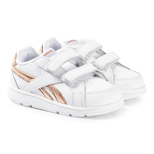 Reebok Royal Prime Infant Sneakers White and Gold WHITE/ROSE GOLD