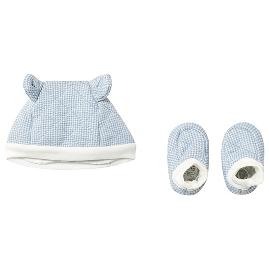 Petit Bateau Hat and Booties Set Baby Blue variante 1