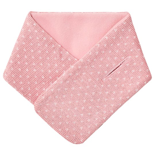 Petit Bateau Knitted Scarf Pink Charme/Marshmallow