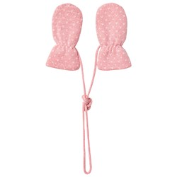 Petit Bateau Knitted Mittens Pink